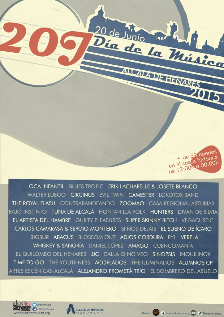 20J Día de la Música - poster