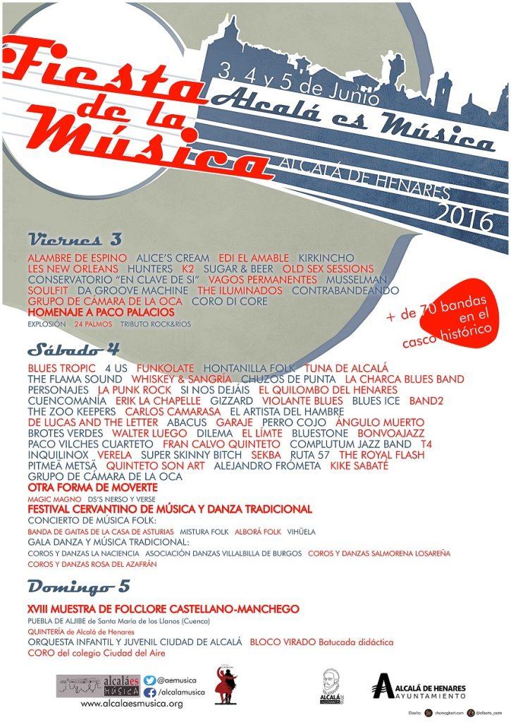 Fiesta de la Música 2016 -  poster