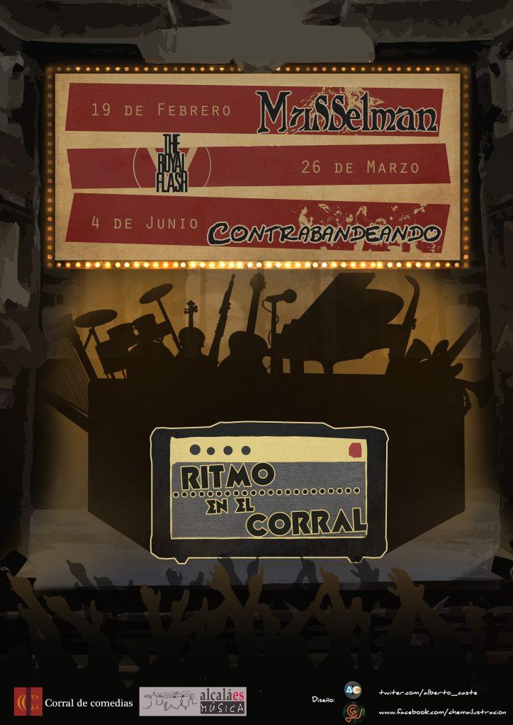 Ritmo en el Corral - poster