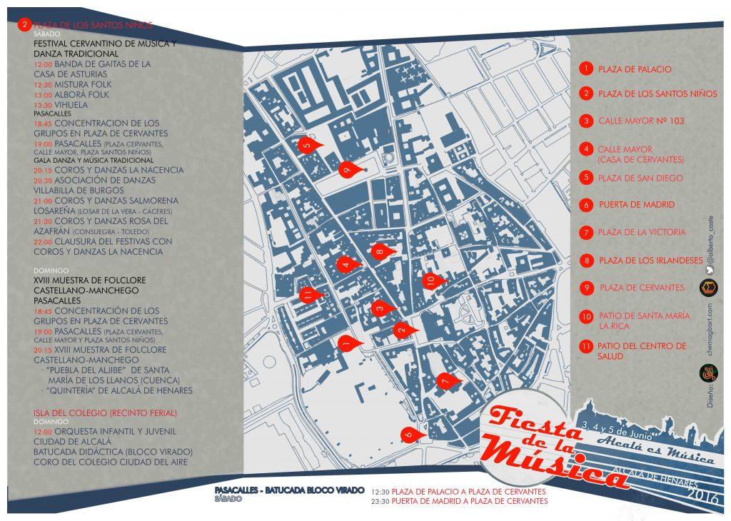Fiesta de la Música 2016 -  flyer