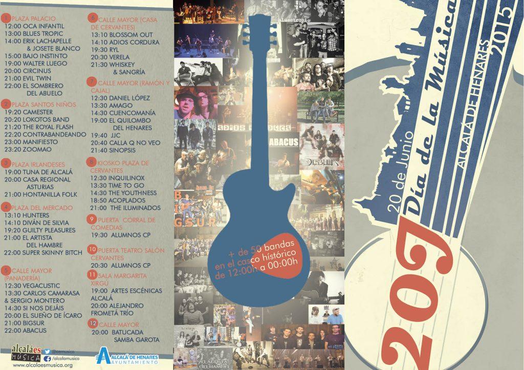20J Día de la Música - flyer