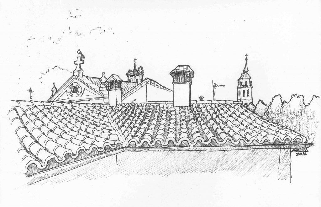Rooftops at Alcalá de Henares